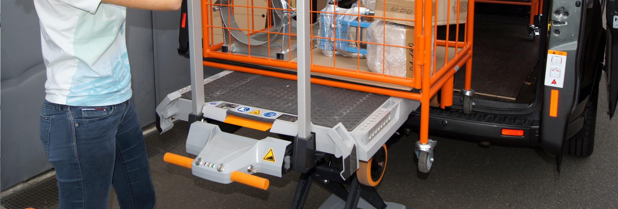 Beladesystem-Hubwagen